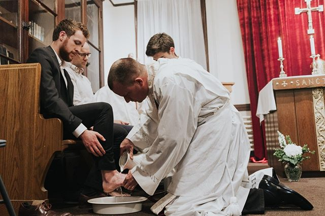 """So if I, your Lord and Teacher, have washed your feet, you also ought to wash one another's feet. For I have set you an example, that you also should do as I have done to you."""