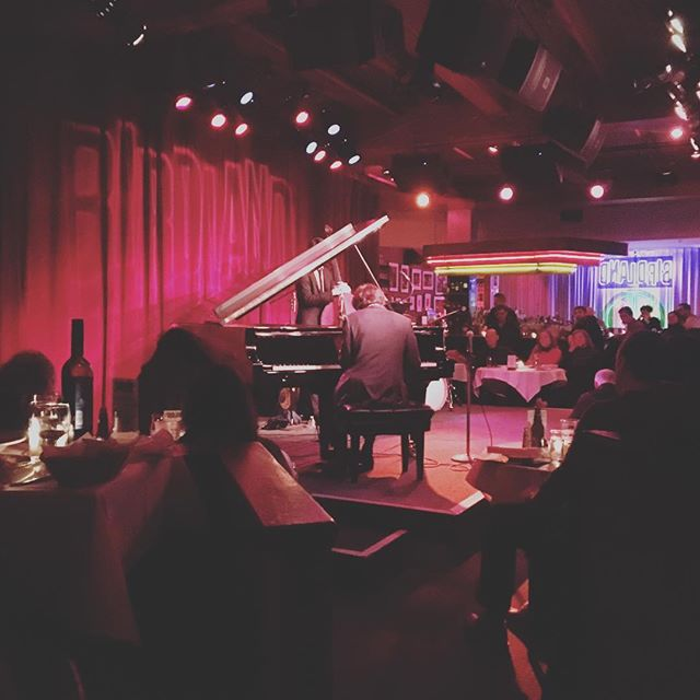 Watching Friend Joe Alterman kill it at BIRDLAND JAZZ CLUB