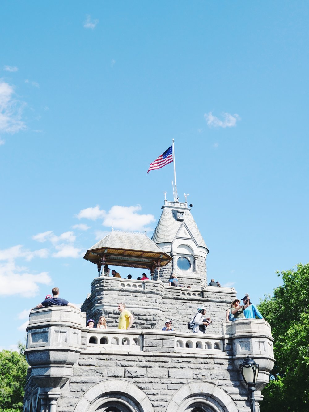 did you know there is a castle in central park? what ISN'T in central park, tho?