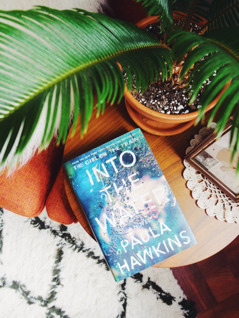 book 3 :  into the water  by paula hawkins  i read  girl on the train  by paula hawkins and loved it. so when i saw she had come out with another book i just had to buy it! i am so, so excited to get to reading this! no spoilers please if you have already read it! :)