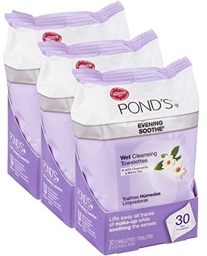 Copy of 3 Pack Ponds Face Wipes - $22
