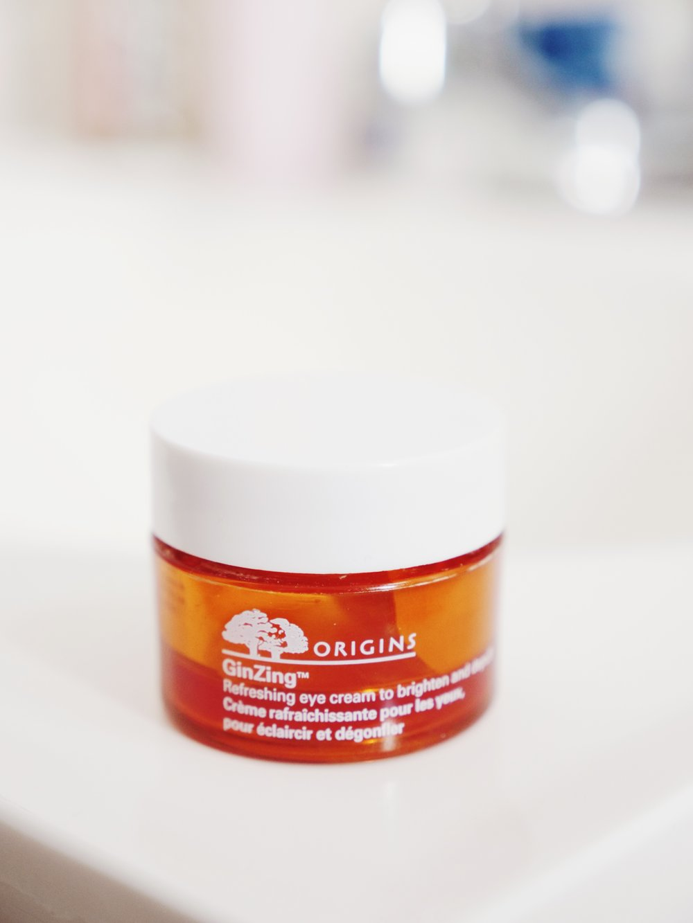 this origins eye cream is a product i have stayed with for years.