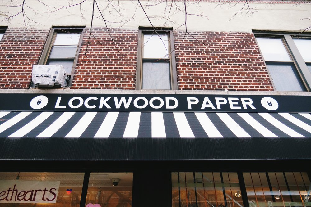 lockwood is my other favorite place! for a while i was stopping here once a week. i was around when it was just lockwood, but in the past year they have since expanded to lockwood paper and lockwood style! they are all right next to each other - very dangerous.