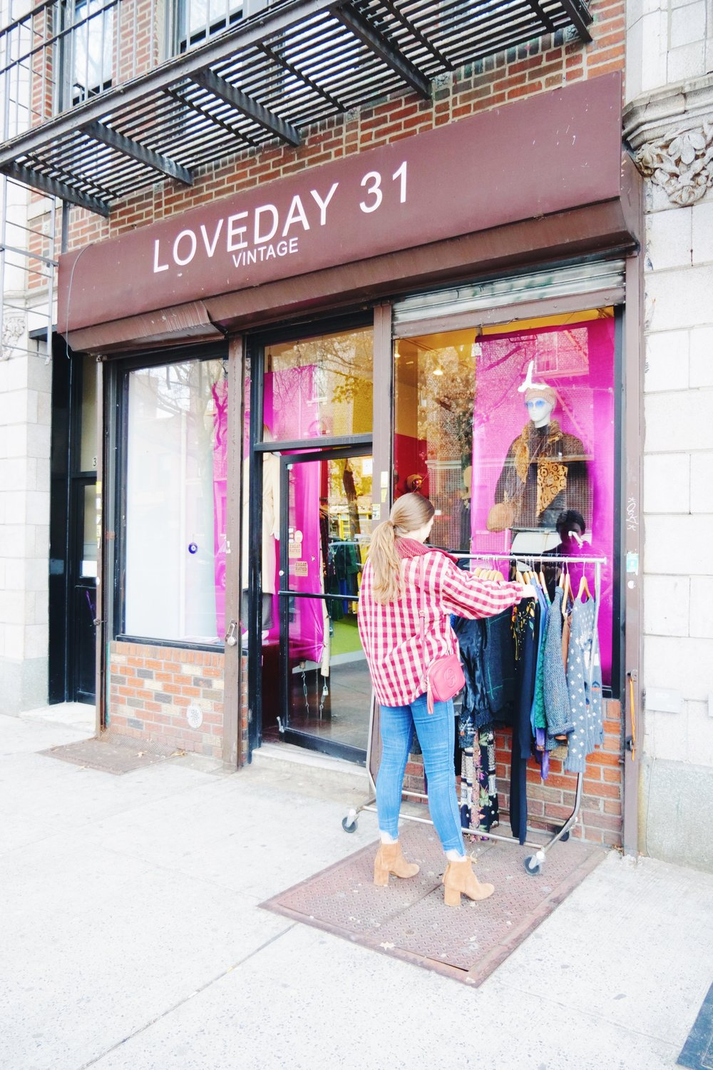 loveday31 is by far one of my favorite places in astoria. ivana, the owner, has poured her heart and soul into this shop. it has been around for over 10 years and her pieces she sells are one-of-a-kind.