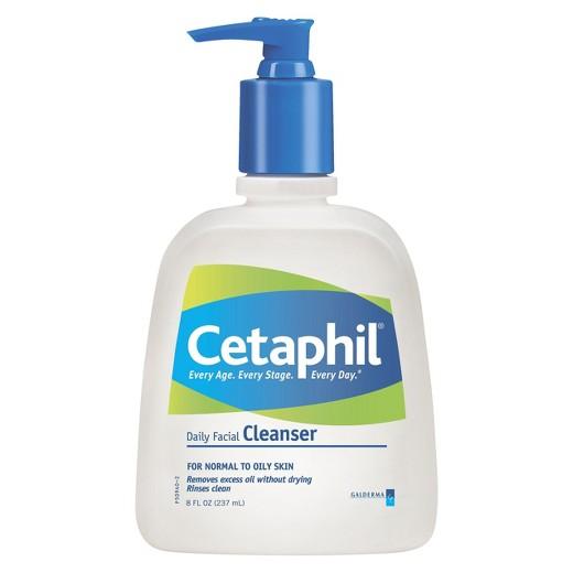 Cetaphil Daily Facial Cleanser 8 oz, $6.33