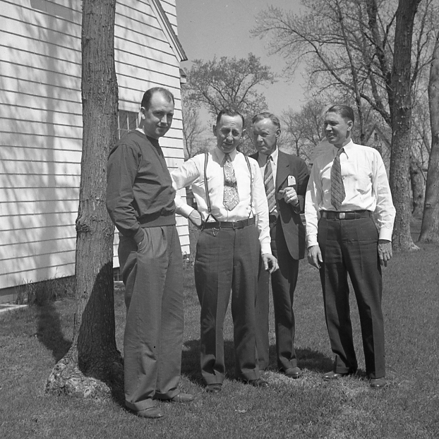 Arlo Jordan, Elmer Johnson, Oscar Alquist, Mr. Wicklund