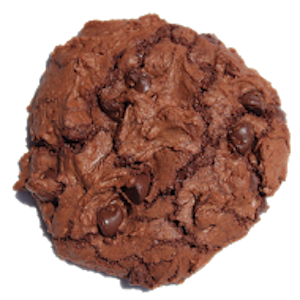 Especially for chocolate lovers. Triple chocolate means lots of melted chocolate, very little flour, Hershey's cocoa powder, and plenty of chocolate chips, making this cookie extremely rich. Crackly top and soft in the middle - chocolate heaven!