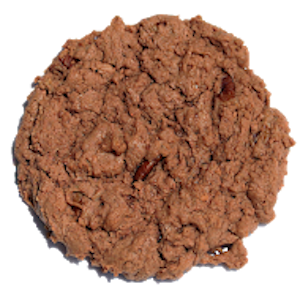 This is a German chocolate based cookie, with tons of caramely coconut and whole pecans. No need to travel to Germany for an authentic German Chocolate cookie!