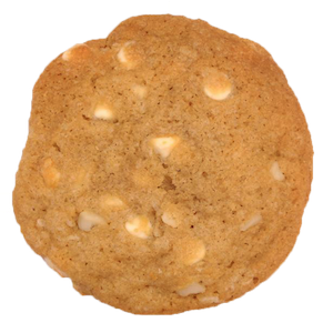 This rich, chewy cookie is one that customers demanded year after year. However, we didn't want to add it to the line up until it was perfect (and until bulk macadamias came down in price!). In every bite you will enjoy the contrast of crunchy, salty macadamia nuts and smooth, creamy white chocolate chips. Cookie paradise!