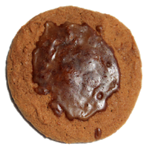 The Cookie People love root beer so why not a root beer cookie? This is a soft, chewy cookie. Root beer extract is in the cookie and in the icing on the top. One bite and you will swear you are sipping on a creamy root beer float.