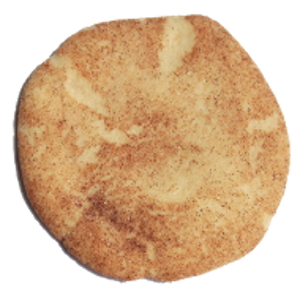 You may remember these from when you were a kid - a crinkly topped sugar cookie rolled in cinnamon-sugar. Great with coffee or tea.