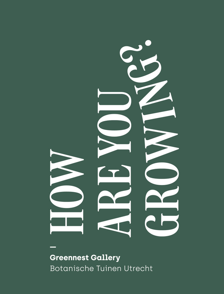 How are you growing? | Greennest Gallery | Plantenzaak Utrecht