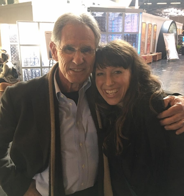 Tracey with Mindfulness expert - Jon Kabat-Zinn in San Francisco 2017.