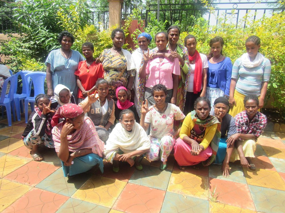 Bahir Dar Deaf Women Livelihoods Beneficiaries 1 - June 2016 copy.jpg