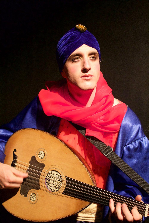 George Sepmeier  as The Musician