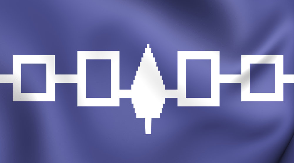 Iroquois Nation Flag - Photo by chelovek/iStock / Getty Images