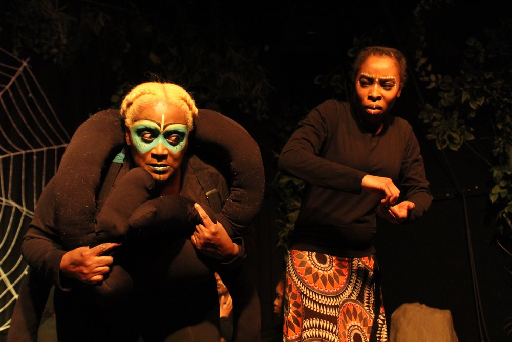 Lisa Young  as Anansi & Tresha Farris  as Aso