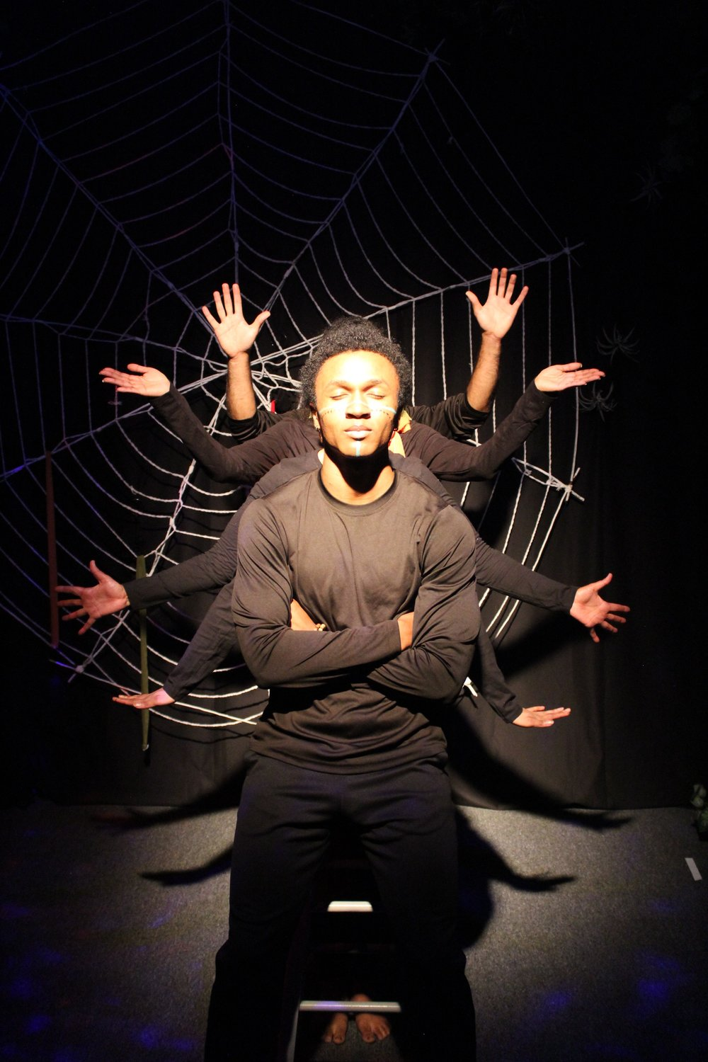 Anansi: The Itsy BiTSY Spider Stories  Photo by Patti Murtha