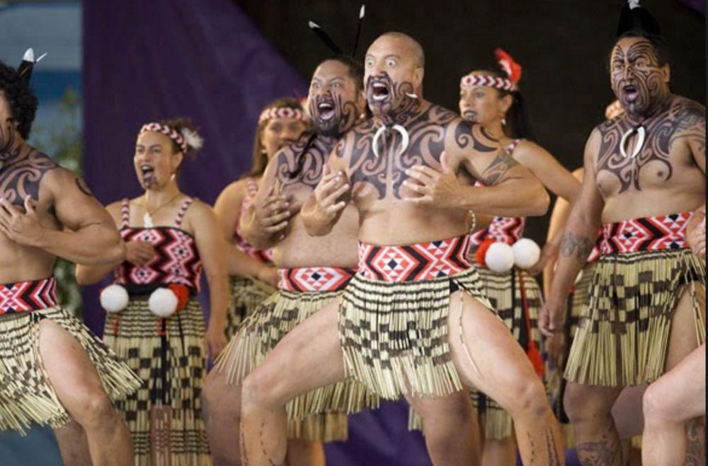 Haka Dancers