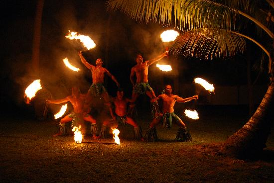 Traditional Fire Dance