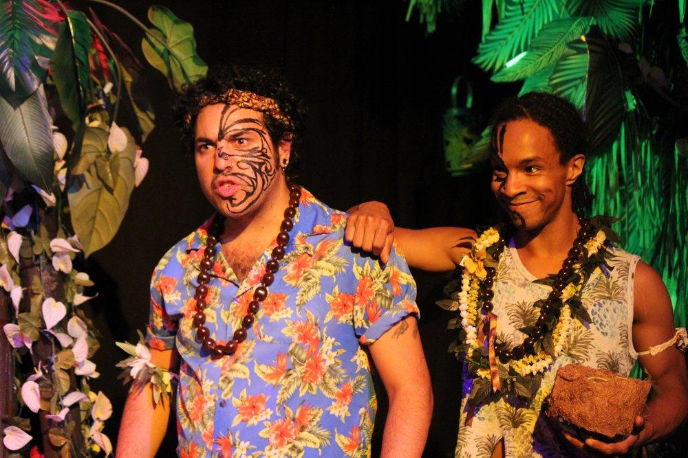 Eric Anduha  and  Chris Hayes  as Pae and Waho