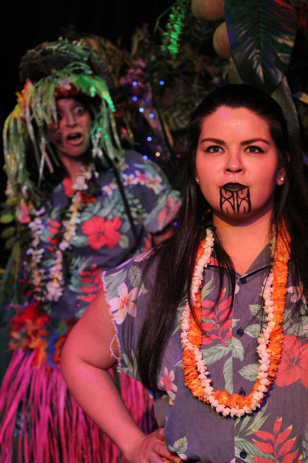 Shena Hinger  as Mafui'e and  Michaela Lamb  as Maui