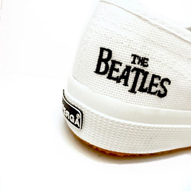 Customized Supergas for the #1 Beatles fan 🤩
