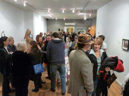 Opening of Body + Object at Ontario Crafts Council