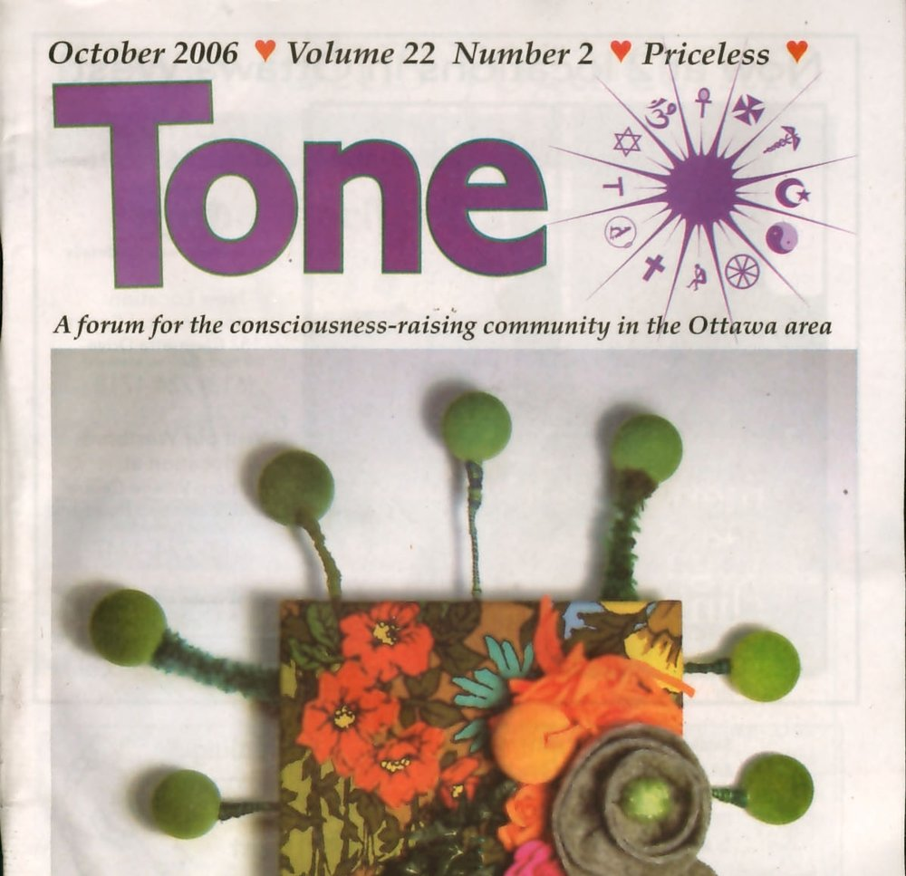 Tone Magazine, Cover Image 'Flower Garden', October 2006
