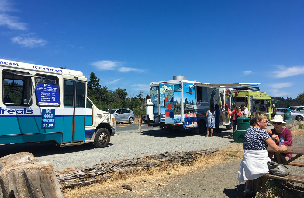 Colwood Beach Eat Food Trucks
