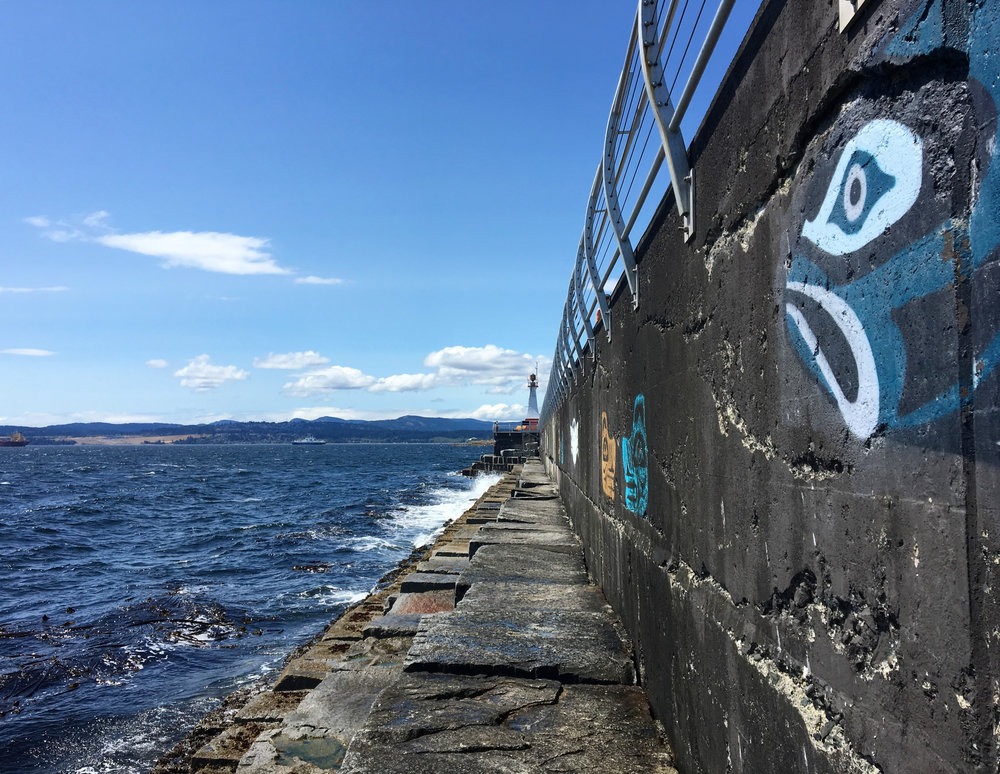 Victoria Breakwater Artwork