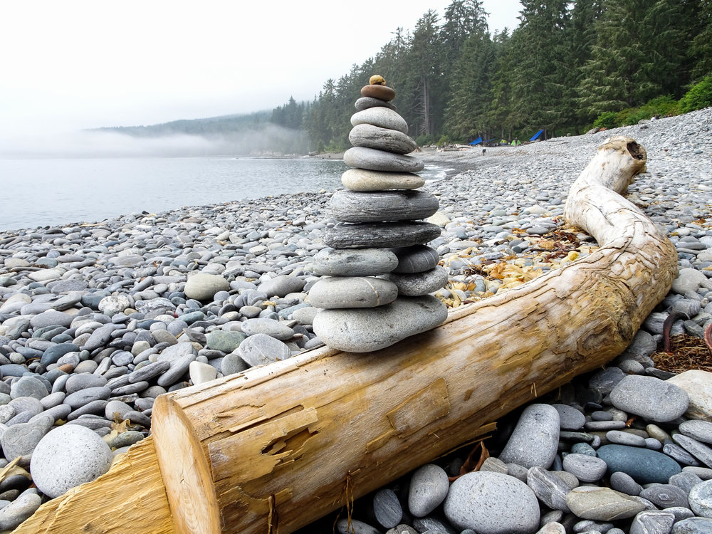 Sombrio Beach Cairn