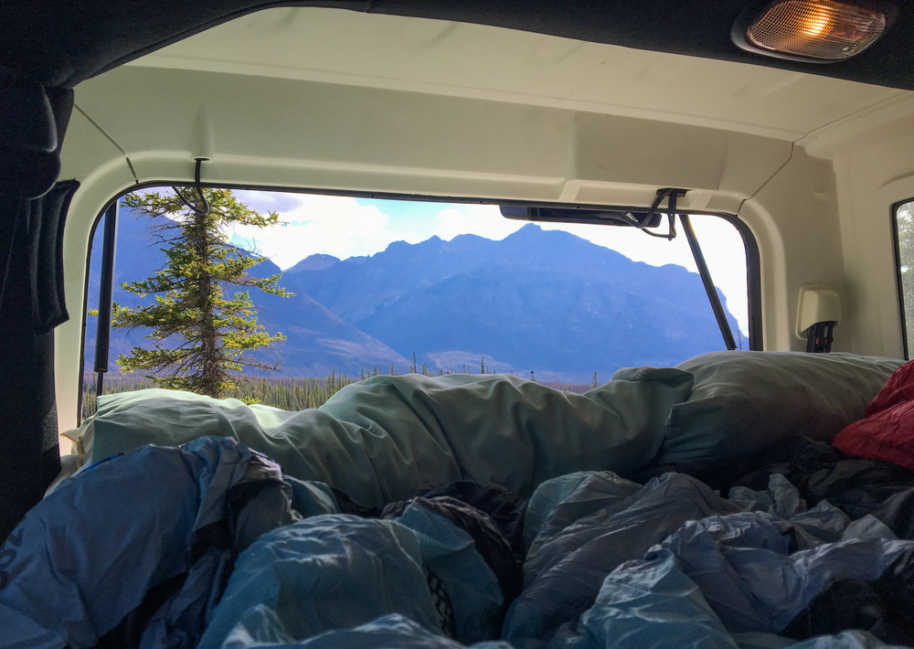 Jeep Sleeping Platform