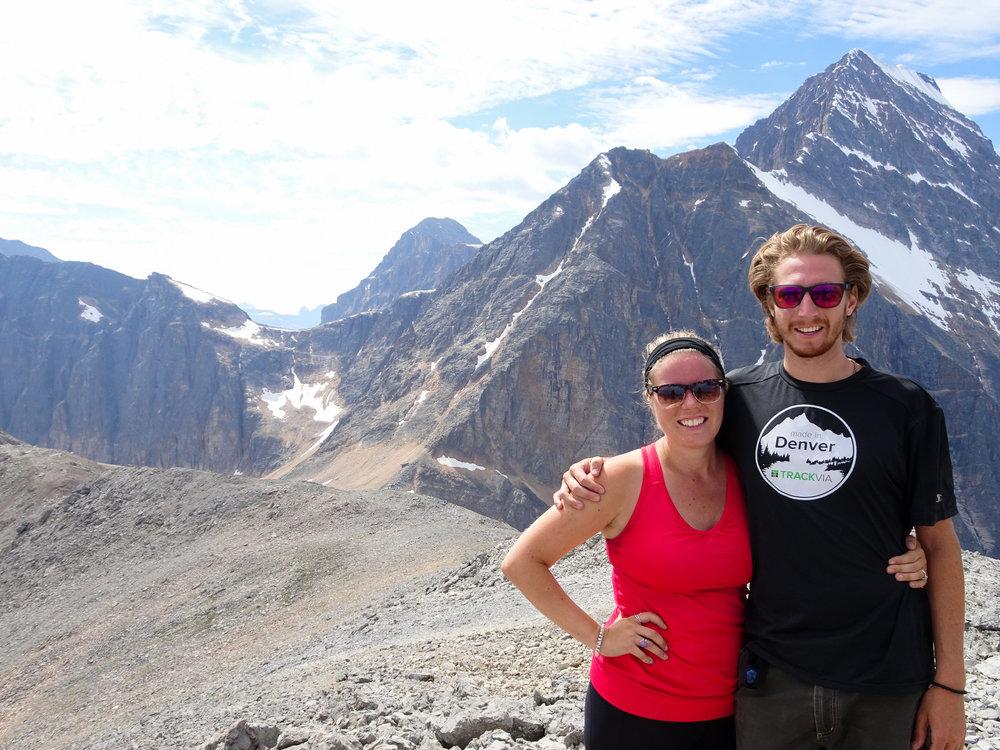 Enjoying the summit!