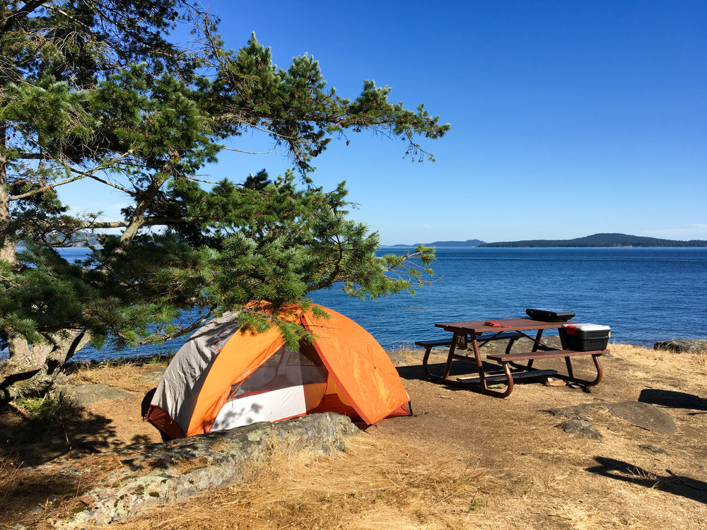 Salt Spring Island Ruckle Campground