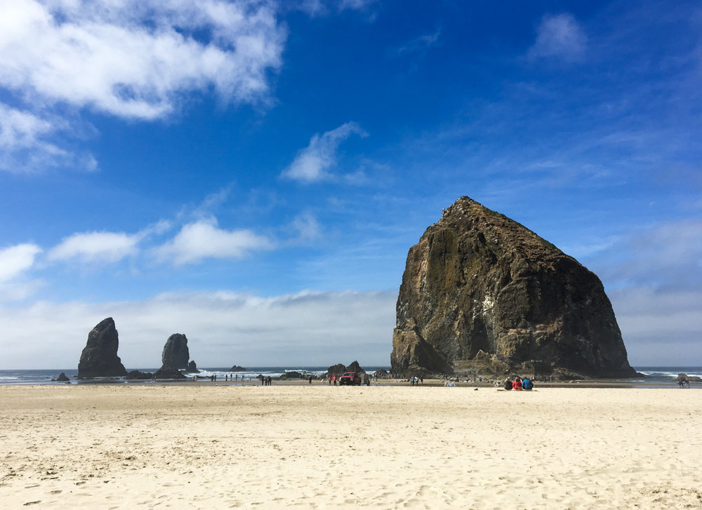 Haystack Rock in Cannon Beach