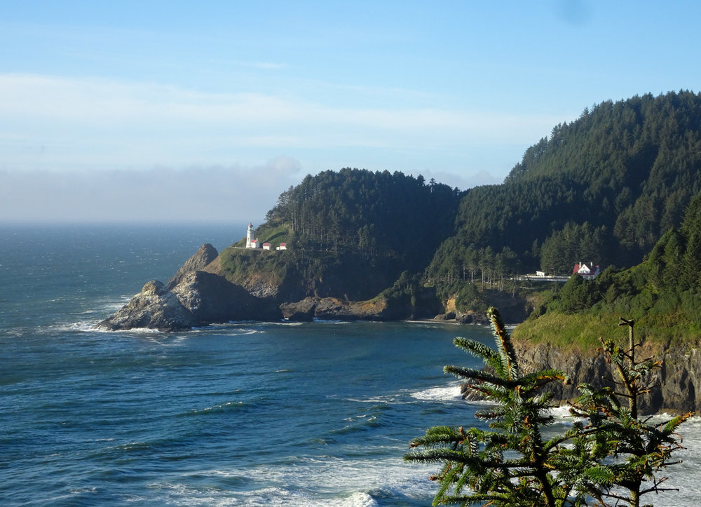 View of Heceta Head from the PCH