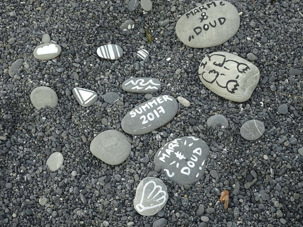 Lost Coast Trekkers leaving their mark