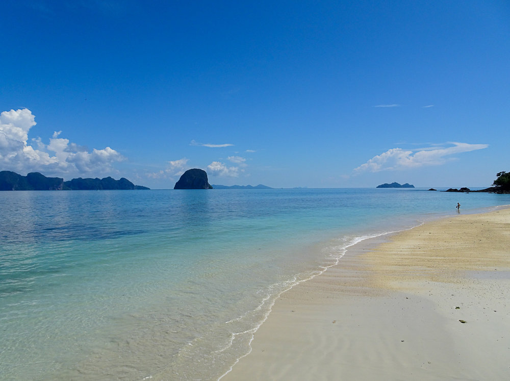 The pristine beaches of Koh Ngai