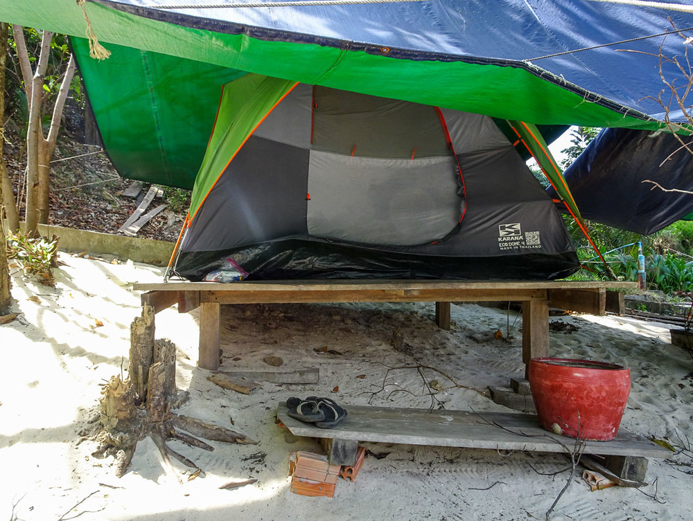 Our Tent