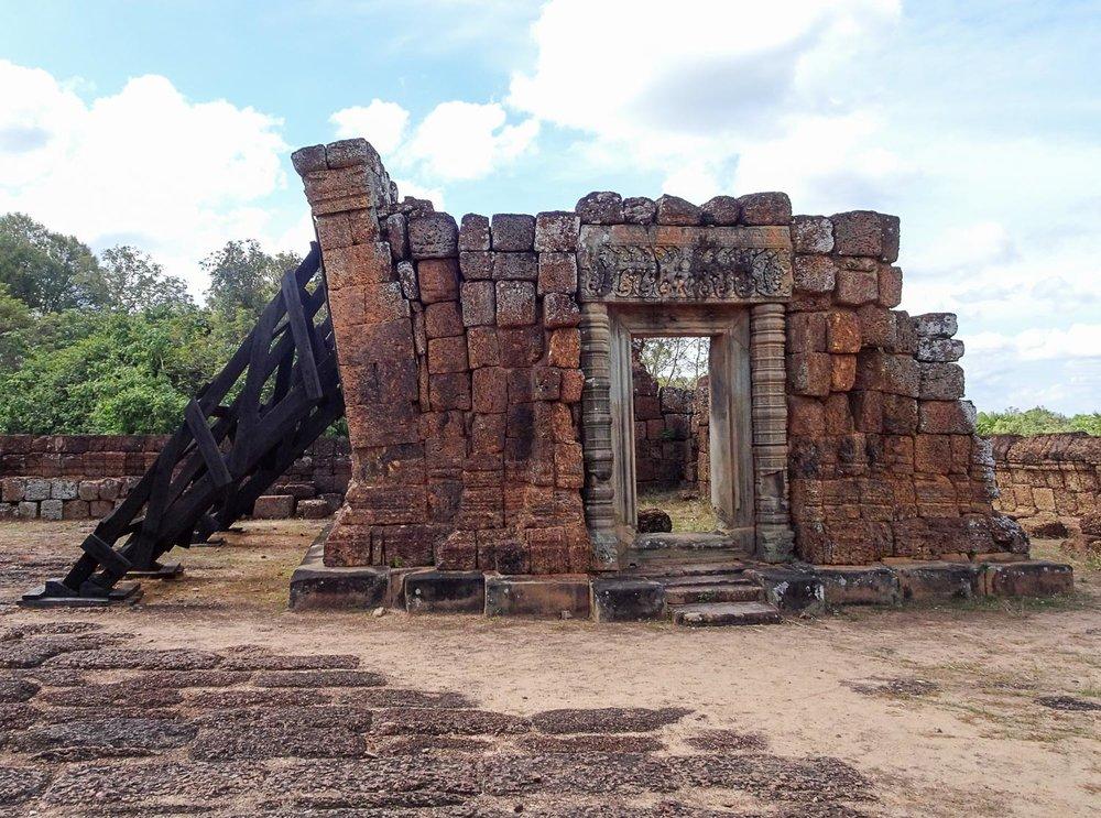 Restorations at East Mebon