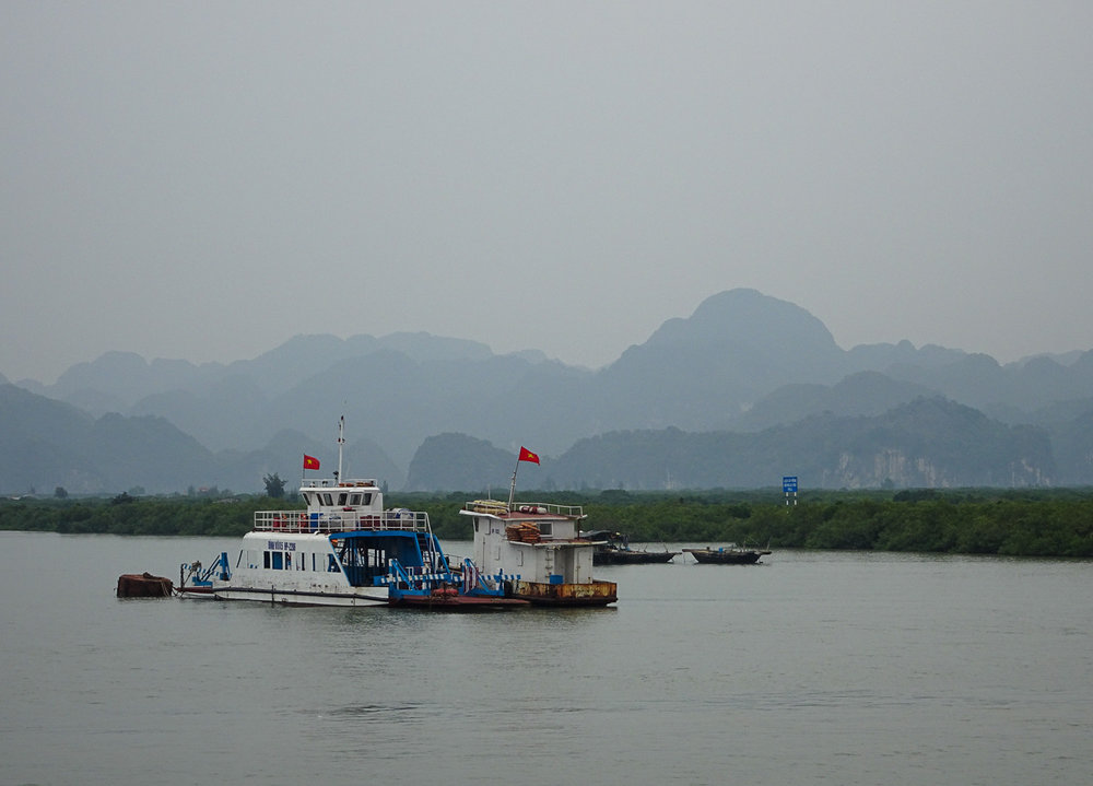 Ferry to Cat Ba Island