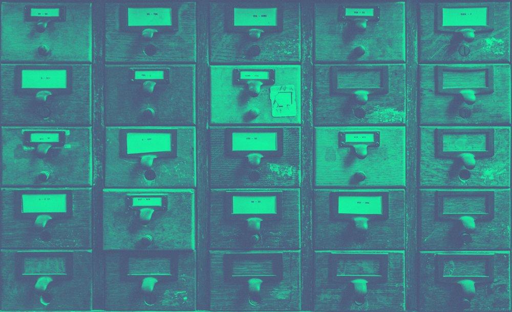 Teal Wood File Cabinet.JPG
