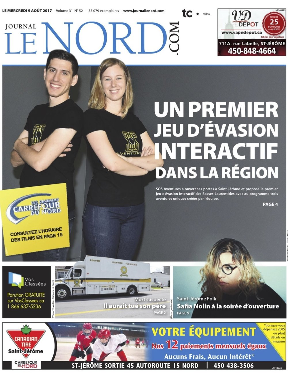 Front page Le Nord.jpg