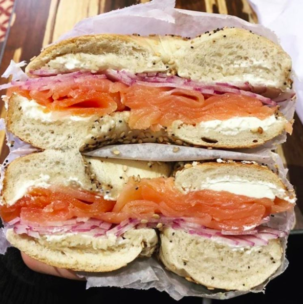 Yes, I follow a bagel shop on Instagram...Hey @TalBagels!