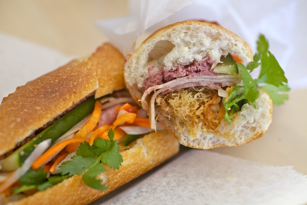 The Best Bahn-Mi Sandwich in Manhattan is at Bahn Mi Zon's for $10.50!