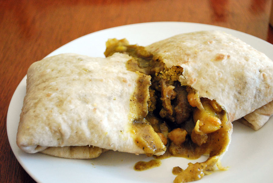 Wrap Roti is like an Indian version of Chipotle.