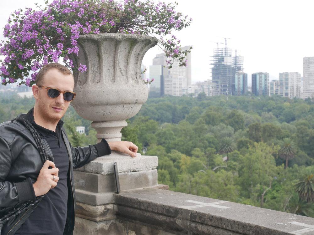 0 Sat Mexico City Chapultepec Castle Nick Portrait 1.JPG