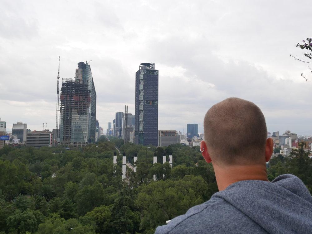 0 Sat Mexico City Chapultepec Castle Tani Skyline 3.JPG