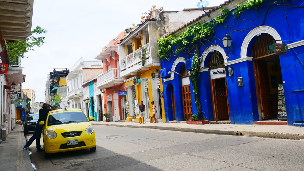 Uber is kind-of allowed in Colombia...but I'd still take it over a taxi any day of the week!
